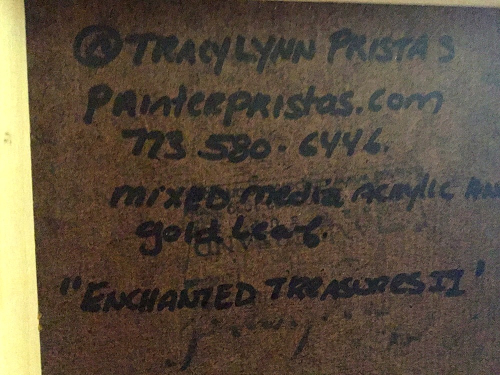 Backside Enchanted Treasure II Archival Panel