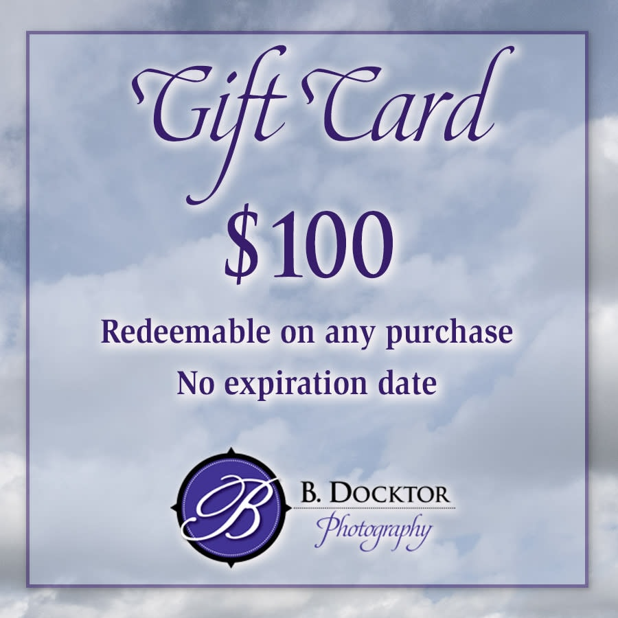 100 gift certificate for storefront
