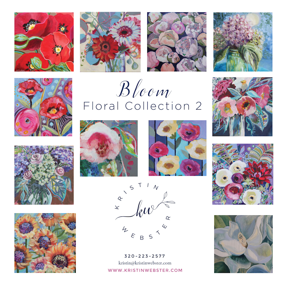 Bloom Floral card collection 2