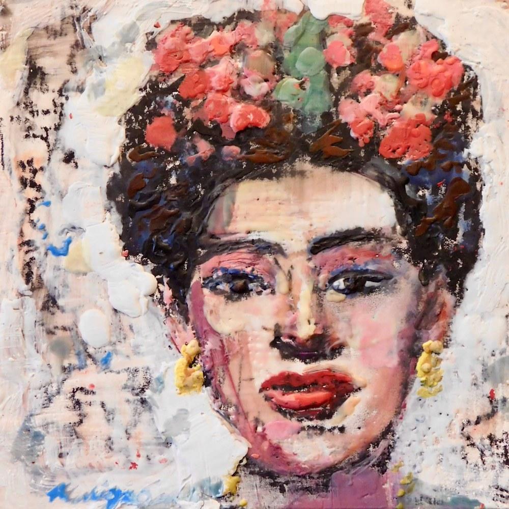 Monique Sarkessian CCST Collector Portrait of Frida 2 1920,