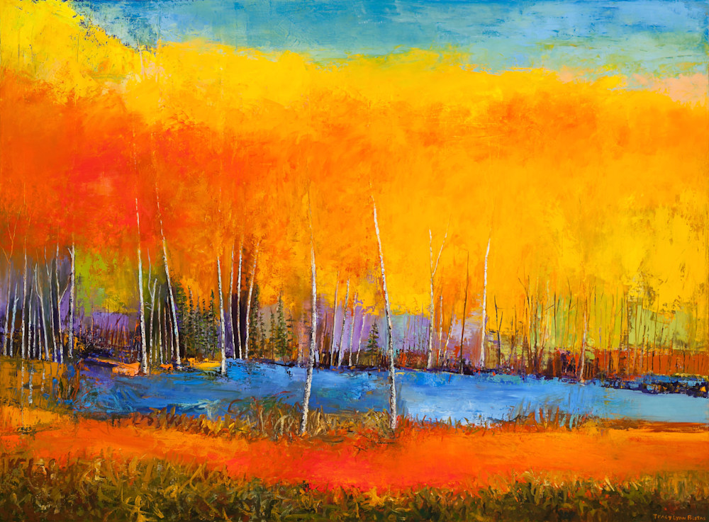 Abstract Landscape Paintings Contemporary Art Gallery, Sold