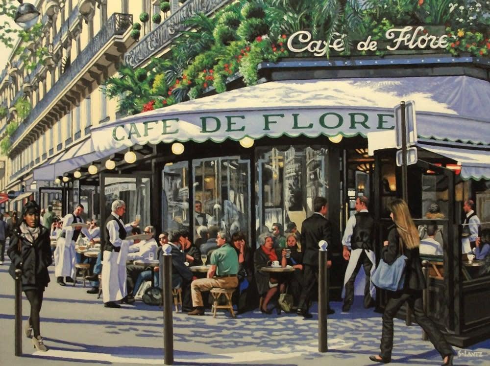 Lantz Cafe de Flore 1000