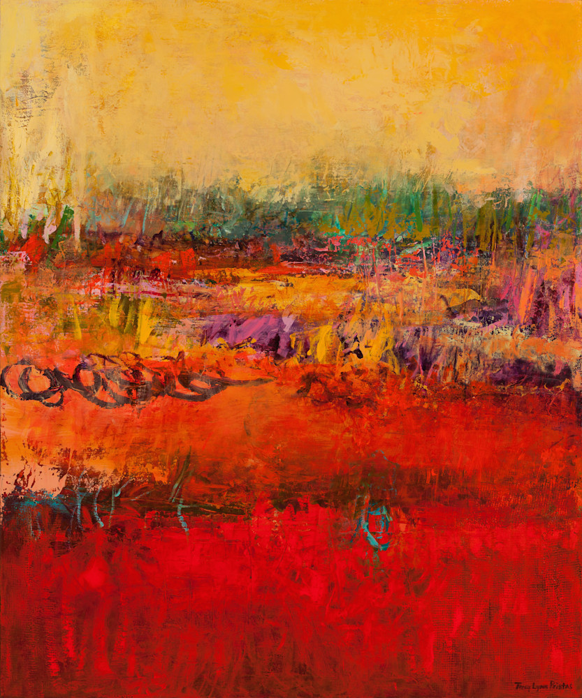 Tracy Lynn Pristas Museum Quality Abstract Landscape Paintings