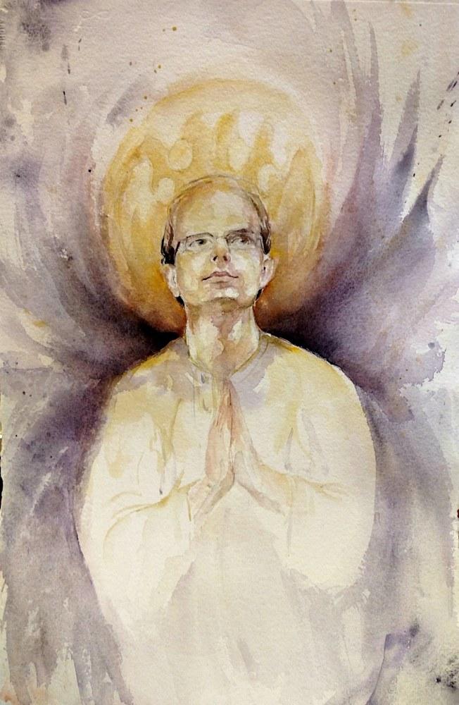 Dan Hanneman angel portrait