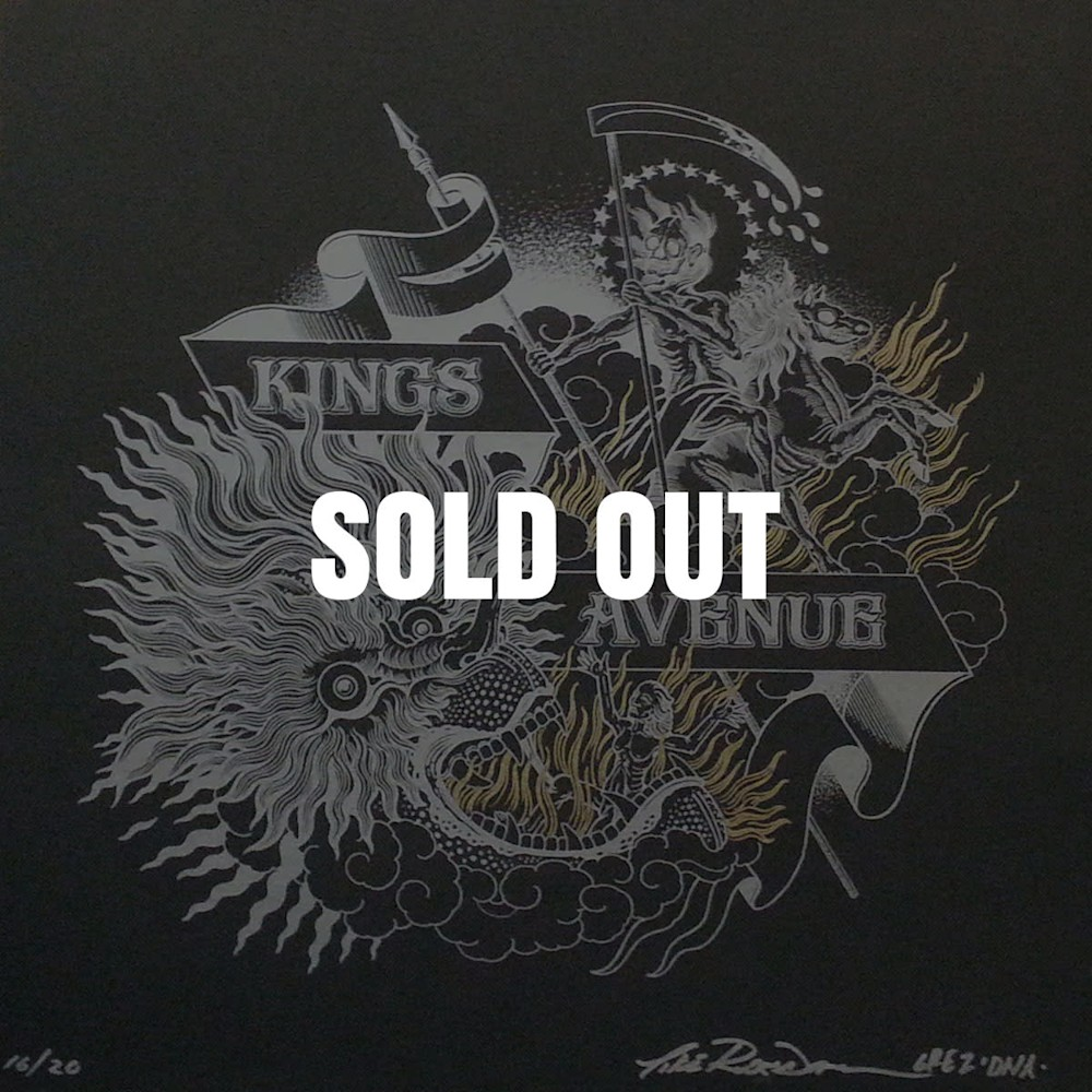 Mouth Of Hell Black Signed Sold Out