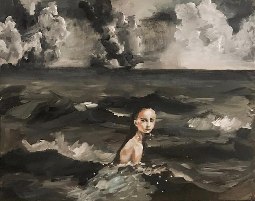 trangjerde, The Ocean Between 20 x 16