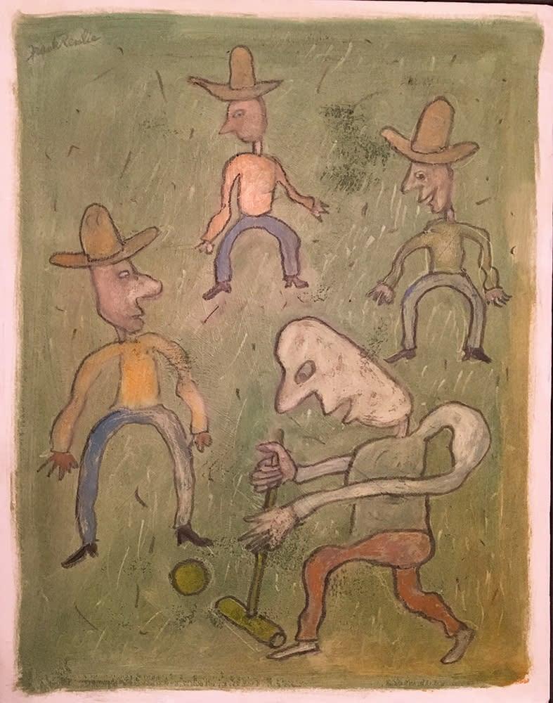 Renlie Cowboy Croquet 1000