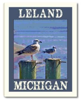 Seagulls on the Pier MC 312