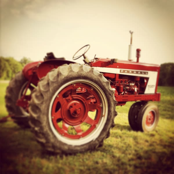 red tractor image