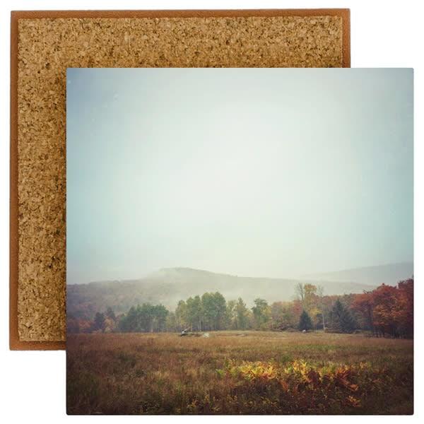 autumn field photo tile