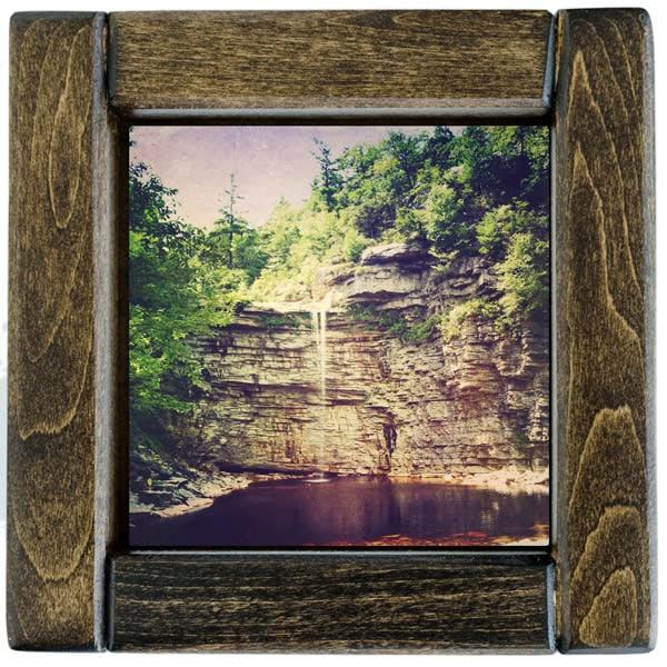 awosting falls framed