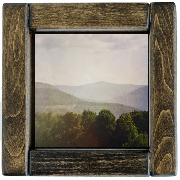 catskill mountain view framed