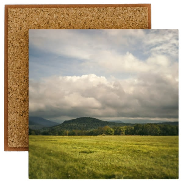 changeable catskill morning photo tile