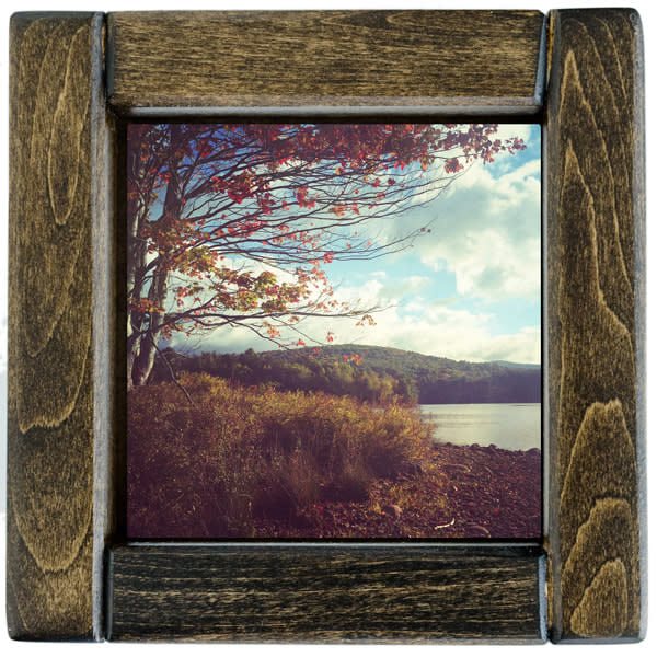 fall on rondout framed