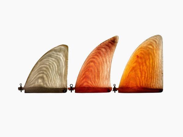 Jeff Ho Single Fin Surf Art by Timothy Hogan grande