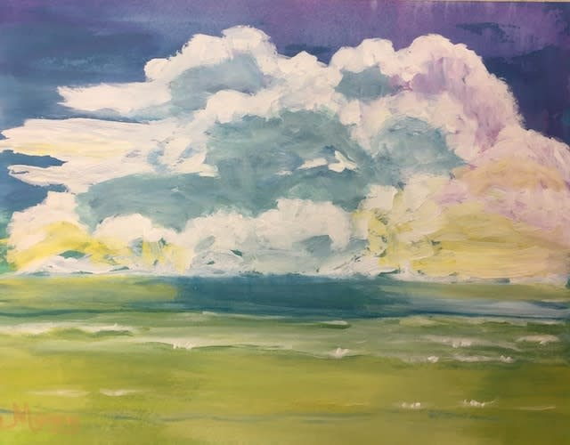 Beach Clouds sm