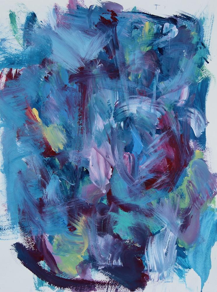 blue paper piece 72
