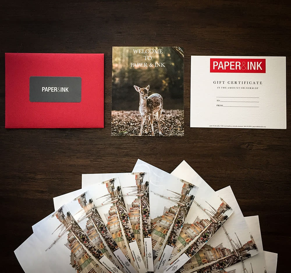 Paper & Ink Gift Card
