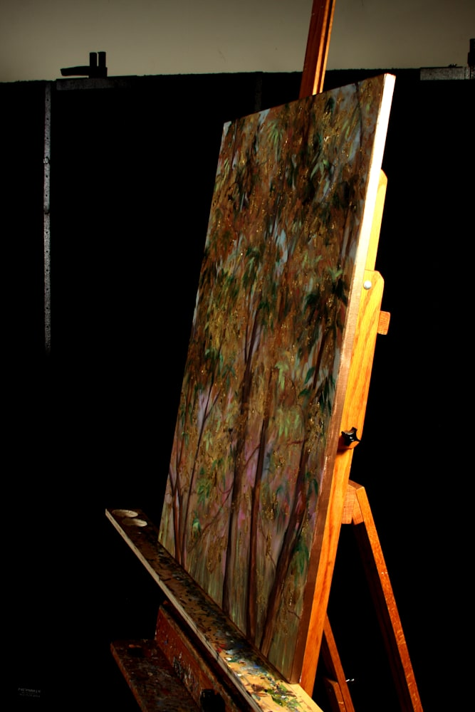 Golden Tree of Life II on the Easel