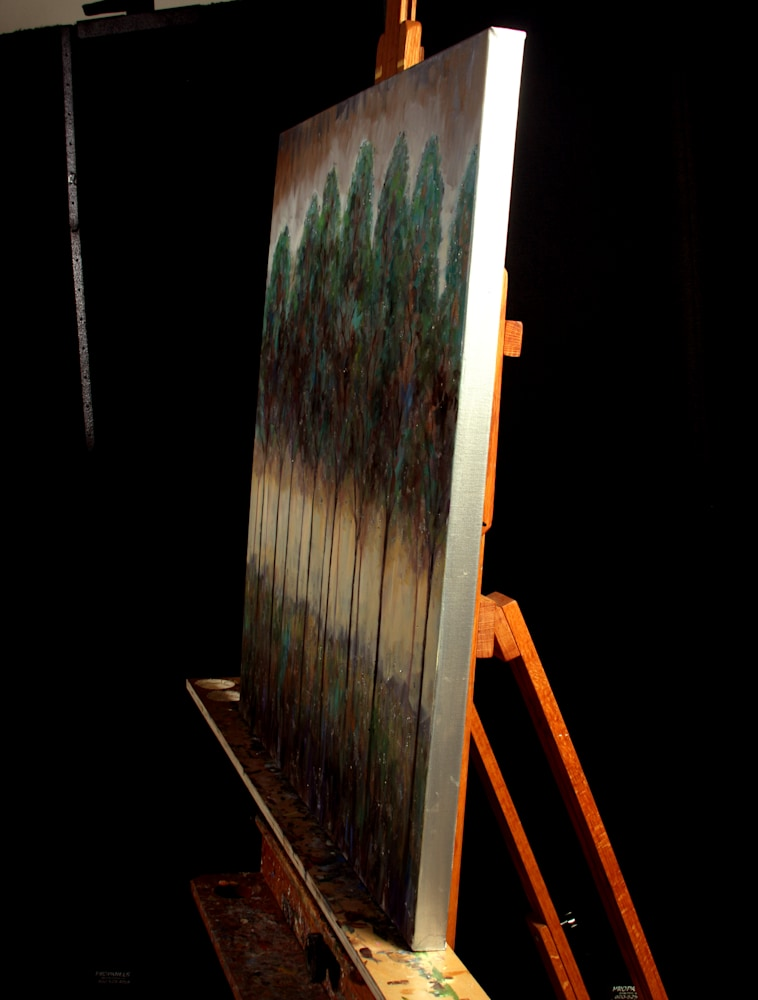 Stream Guardians on Easel
