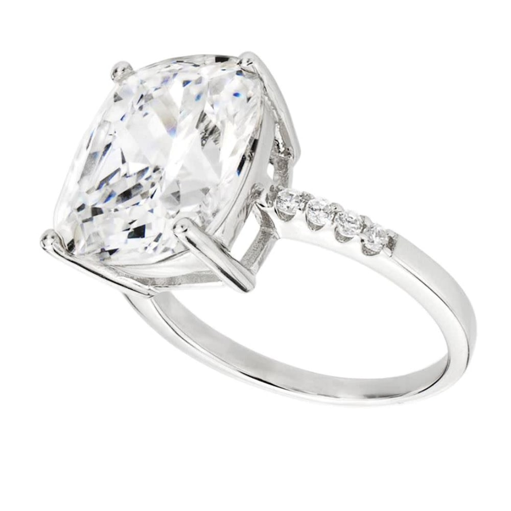 Sterling Silver 4 Carat Floating Ring 1