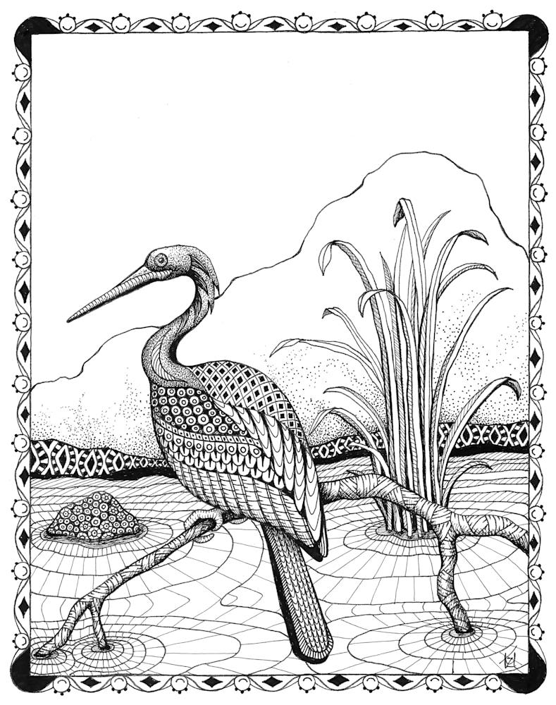 Heron  border