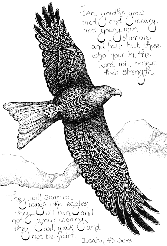 Eagle  Isaiah 40