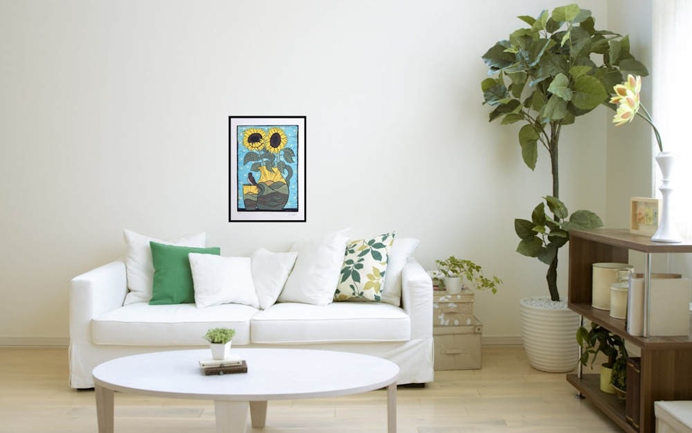 sunflowers interior