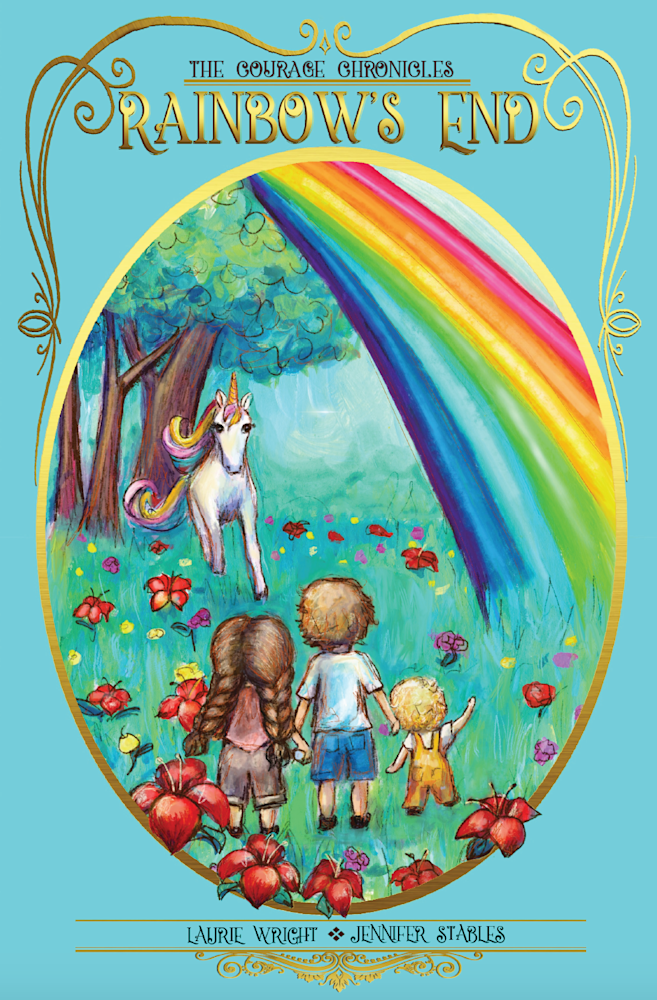 Rainbows end new cover