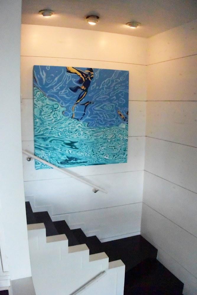 Siracusa   Palm Shallows 60x60 installation
