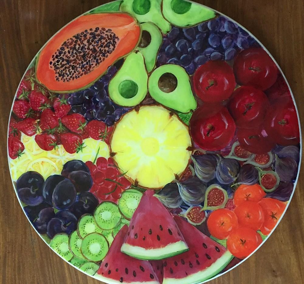 Fruit Lazy Susan 20