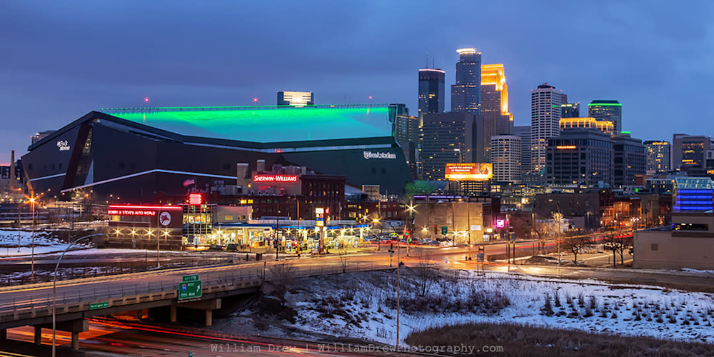 Us Bank Stadium Saint Patricks Day sm