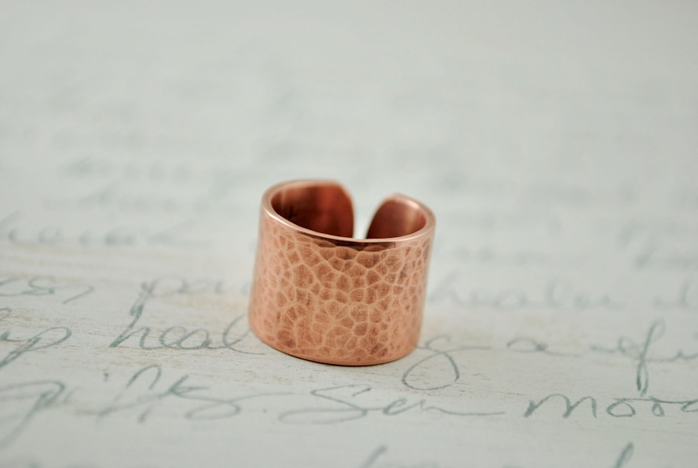Copper Ring 1:2 3