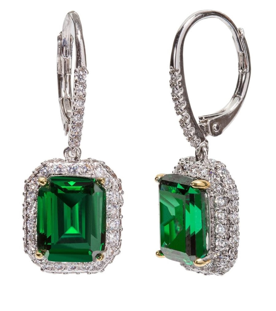 emerald hued drops with double halo 1