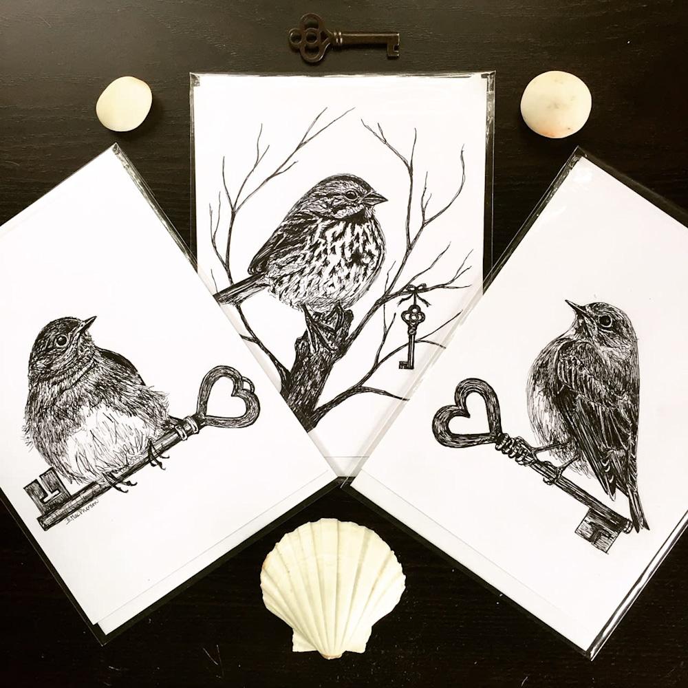 Three Illustrations and Shell
