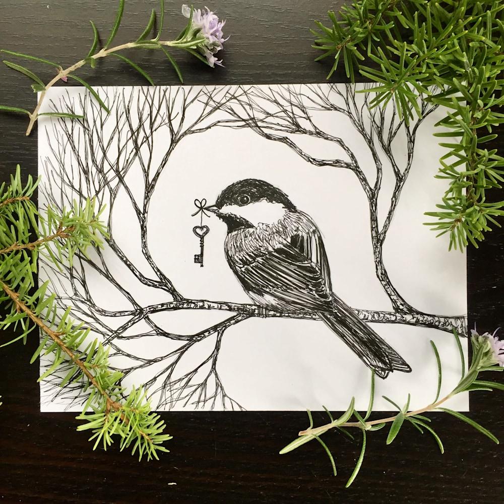 Chickadee Secrets Display