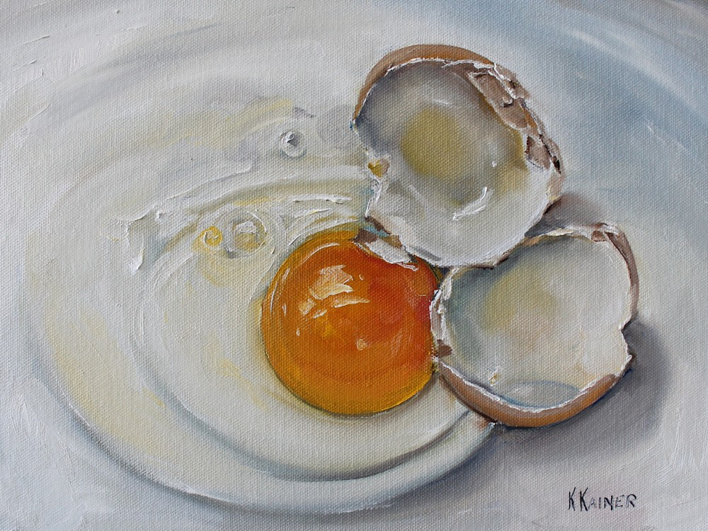 Cracked Egg 12x9 300