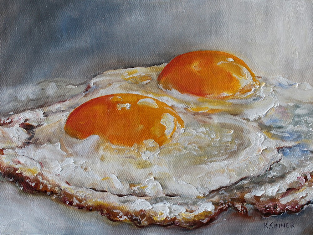 Fried Eggs 12x9 300