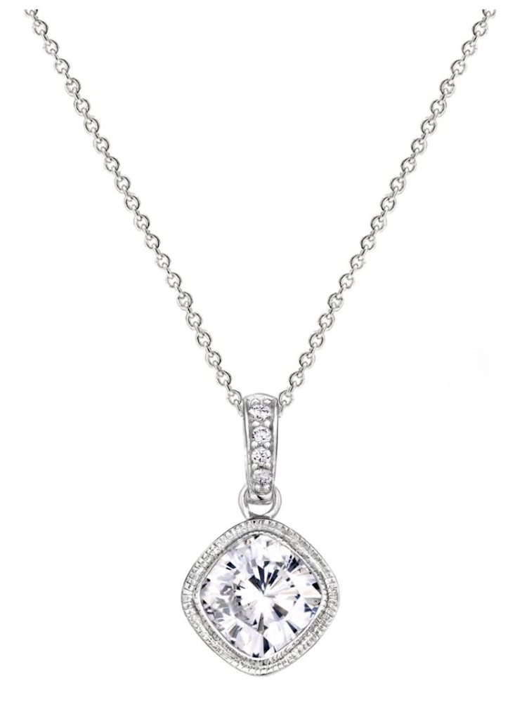 Sterling Silver 2 Carat NoHo Necklace a