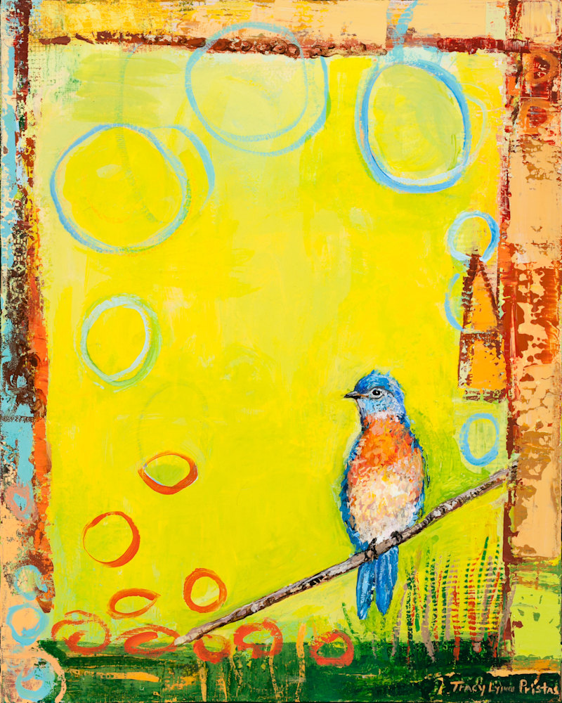 Tracy Lynn Pristas Bird Painting Endorsement
