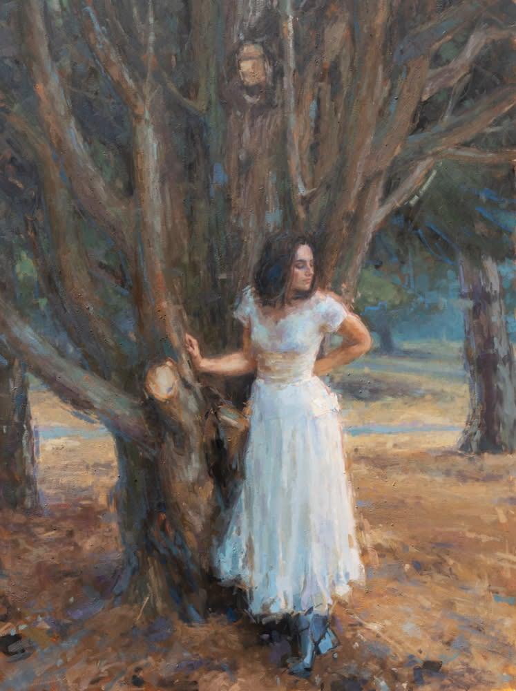Coberly Emerald Tree 36X48 1000