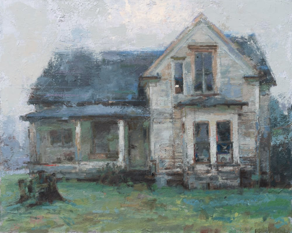 Coberly Old house in Elma 16X20 1000