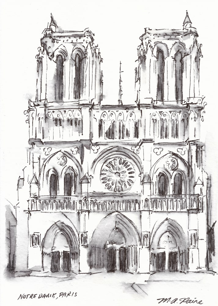 notredameparisdrawing sm
