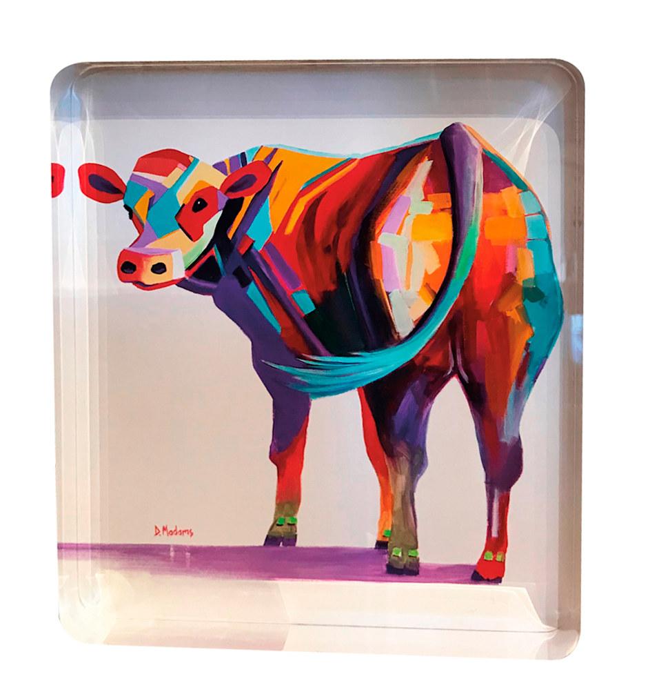 barney acrylicblock