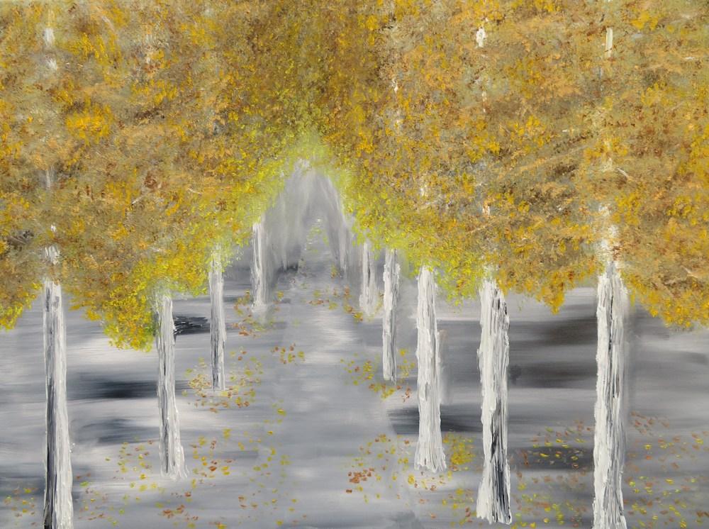 ronturner AutumnPath oil 18x24 330