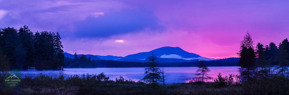 Pre Order Raquette Lake Blue MT Sunrise