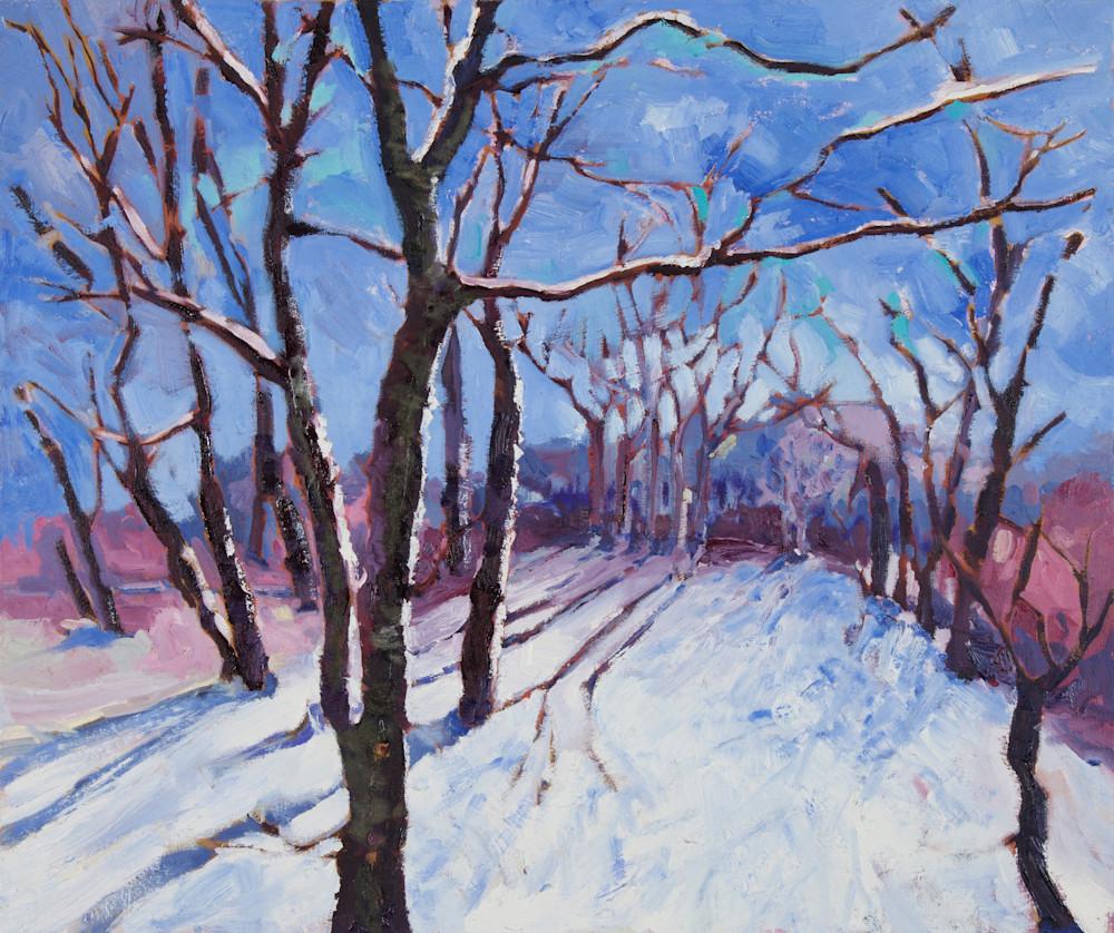 a winter stroll original