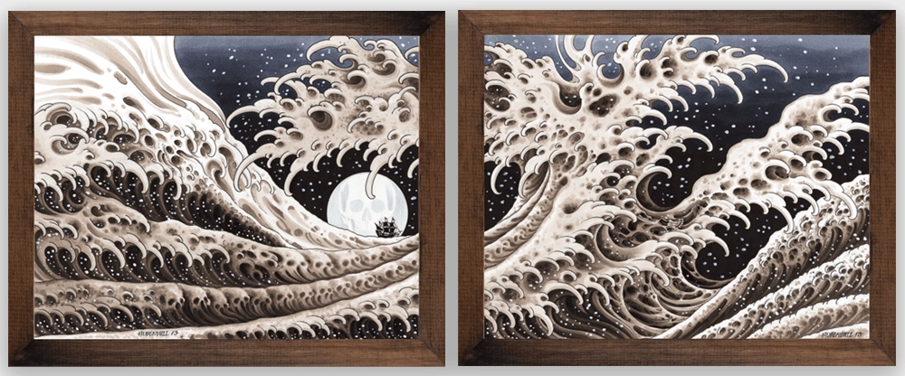 Great Waves Frame