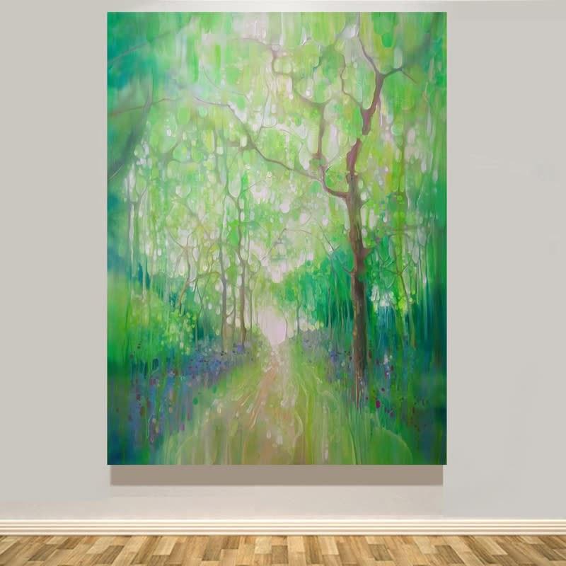 green wood calling wall S