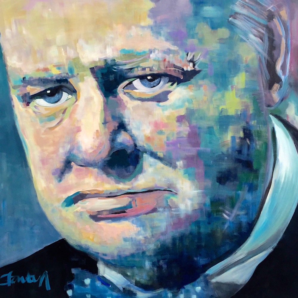 Winston Churchill by Steph Fonteyn